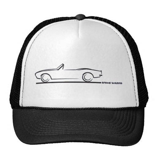 1968 Camaro Convertible BLK Trucker Hat