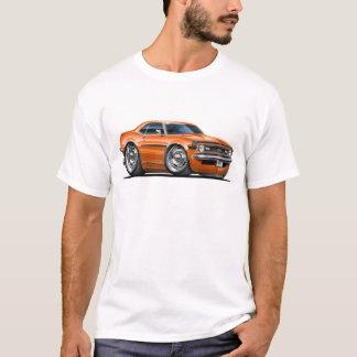 1968 Camaro Orange-Black Car T-Shirt