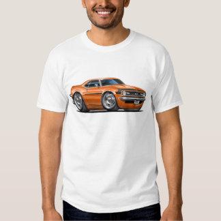 1968 Camaro Orange-Black Car Tee Shirt