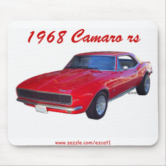 1968 Camaro rs Mouse Pad