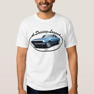 1968 CAMARO SS BLACK T-Shirt