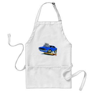 1968 Camaro SS Blue Car Adult Apron