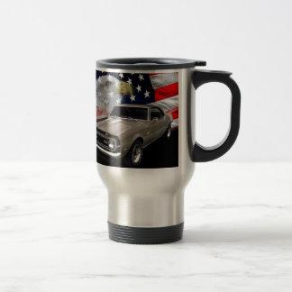 1968 Camaro SS Tribute 15 Oz Stainless Steel Travel Mug