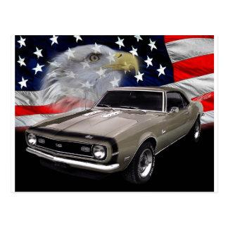 1968 Camaro SS Tribute Postcard