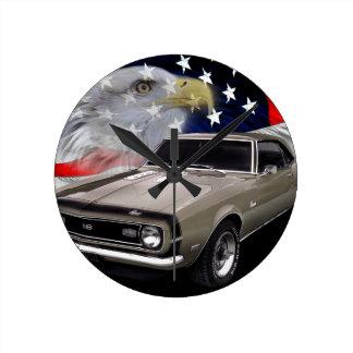 1968 Camaro SS Tribute Round Clock