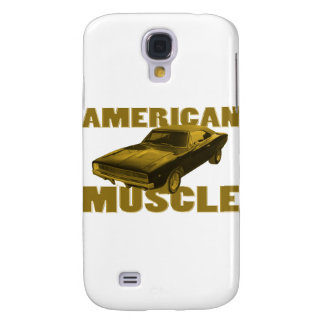 1968 charger golden american muscle galaxy s4 case