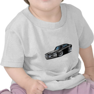 1968 Chevelle Black-White Car Shirts