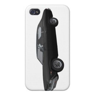 1968 Chevelle SS Black Finish iPhone 4 Covers