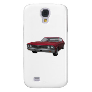 1968 Chevelle SS: Candy Apple Finish Galaxy S4 Case