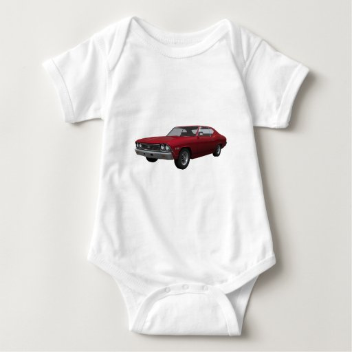 1968 Chevelle SS: Candy Apple Finish Shirts