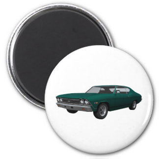 1968 Chevelle SS: Green Finish Magnet