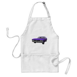 1968 Chevelle SS: Purple Finish Adult Apron