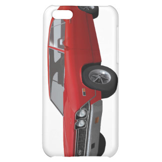 1968 Chevelle SS Red Finish iPhone 5C Cases