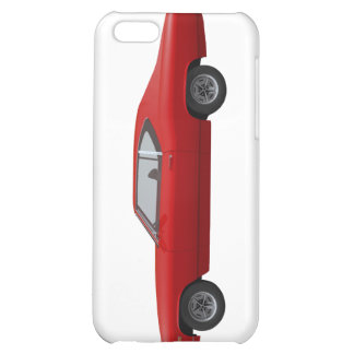 1968 Chevelle SS Red Finish iPhone 5C Cover