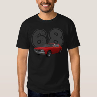 1968 Chevelle SS: Red Finish: T-Shirt