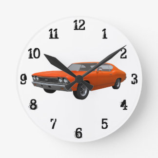 1968 Chevelle SS: Wall Clock