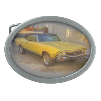 Chevy Belt Buckles Chevy Burnished Silver Buckles