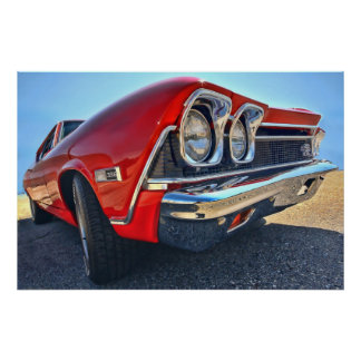 1968 Chevrolet Chevelle SS 396 Posters