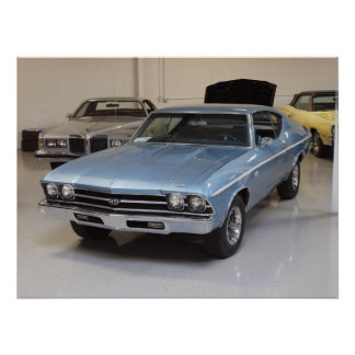 1968 Chevrolet Chevelle SS 396 Sport Coupe Print