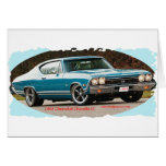1968_Chevrolet_Chevelle_SS Greeting Cards