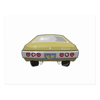 1968 Chevrolet Impala Postcard
