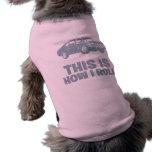 1968 Chevrolet Nova SS 396 Doggie Tshirt