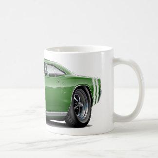 1968 Coronet RT Green-Black Car Coffee Mug