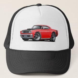 1968 Coronet RT Red-Black Hood Scoop Car Trucker Hat
