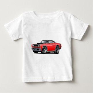 1968 Coronet RT Red-Black Top Hood Scoop Car T-shirt