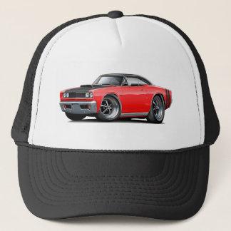 1968 Coronet RT Red-Black Top Hood Scoop Car Trucker Hat