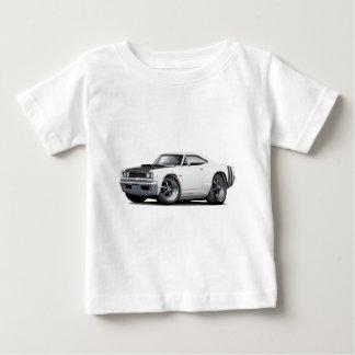 1968 Coronet RT White-Black Hood Scoop Car T-shirt