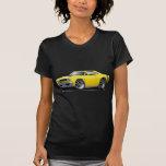 1968 Coronet RT Yellow-Black Double Hood Scoop Car Tees