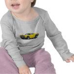 1968 Coronet RT Yellow-Black Double Hood Scoop Car Shirt