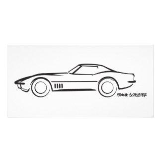 1968 Corvette Hardtop BLK Card