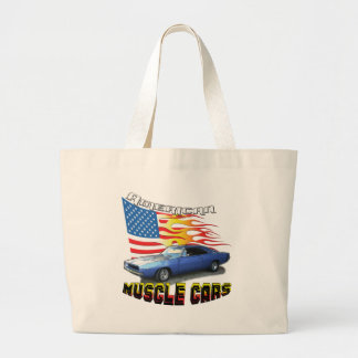 1968 Dodge Charger Large Tote Bag