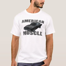 1968 dodge charger r/t american muscle T-Shirt