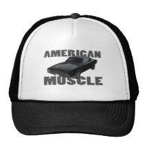 1968 dodge charger r/t american muscle trucker hat