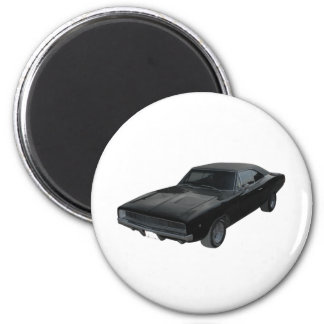 1968 dodge charger r/t mopar 2 inch round magnet