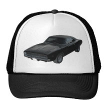 1968 dodge charger r/t mopar trucker hat