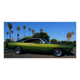1968 DODGE CHARGER R/T POSTERS