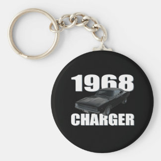 1968 dodge charger rt keychain