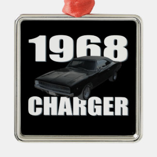 1968 dodge charger rt metal ornament