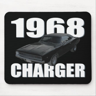 1968 dodge charger rt mouse pad