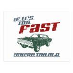 1968 Dodge Hurst Hemi Dart Postcard