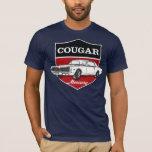 1968) ejemplos del escudo de Mercury Cougar ( Playera