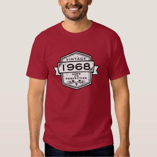 1968 envejecido a la ropa de la perfección remera