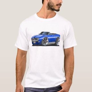 1968 Firebird Blue Convertible T-Shirt