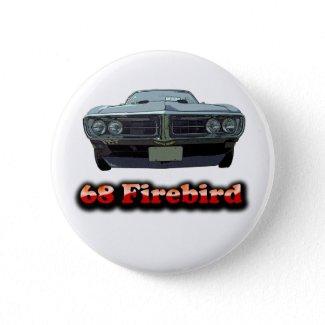1968 Firebird Button button