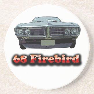 1968 Firebird Coaster coaster