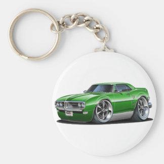 1968 Firebird Green Car Basic Round Button Keychain